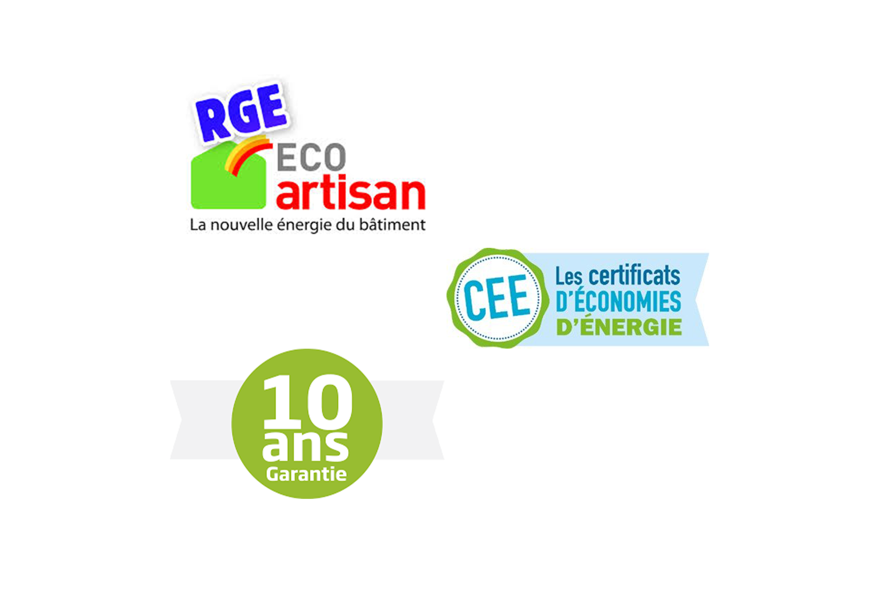 certifications RGE - CEE - DÉCENNALE - SARL CDI